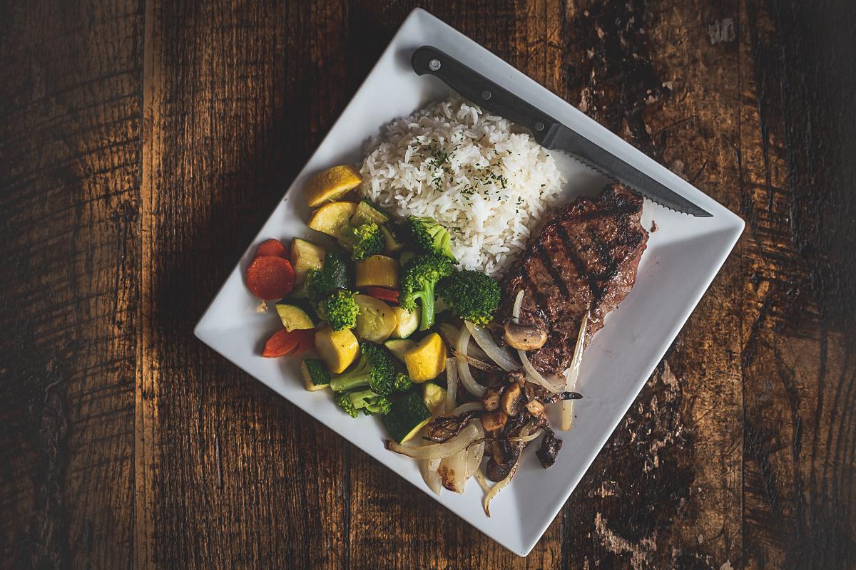 Bobbers Island Grill NY Strip Gluten Free