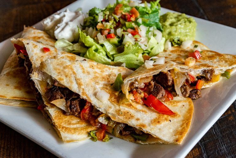 Bobbers Island Grill Steak Quesadilla