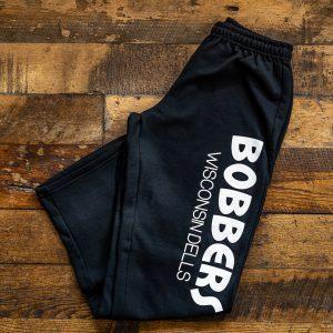 Bobbers Sweat Pants Black