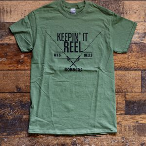 Keepin It Reel T-Shirt Olive