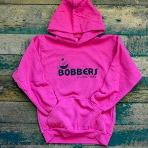 Bobbers Children's Hoodie Pink