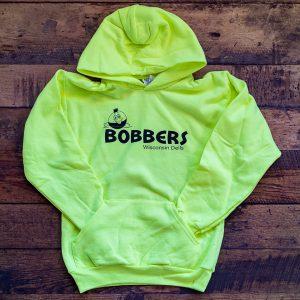 Bobbers Children's Hoodie Neon Yellow