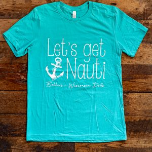 Bobbers Nauti T-Shirt Teal