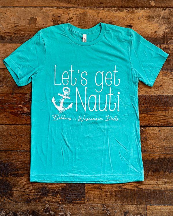 Bobbers Island Grill Nauti T-Shirt Wisconsin Dells