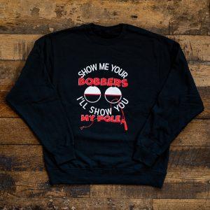 Show Me Bobbers Crew Sweater Black
