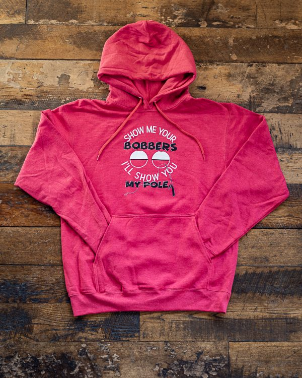 Show Me Your Bobbers Hoodie Bobbers Island Grill