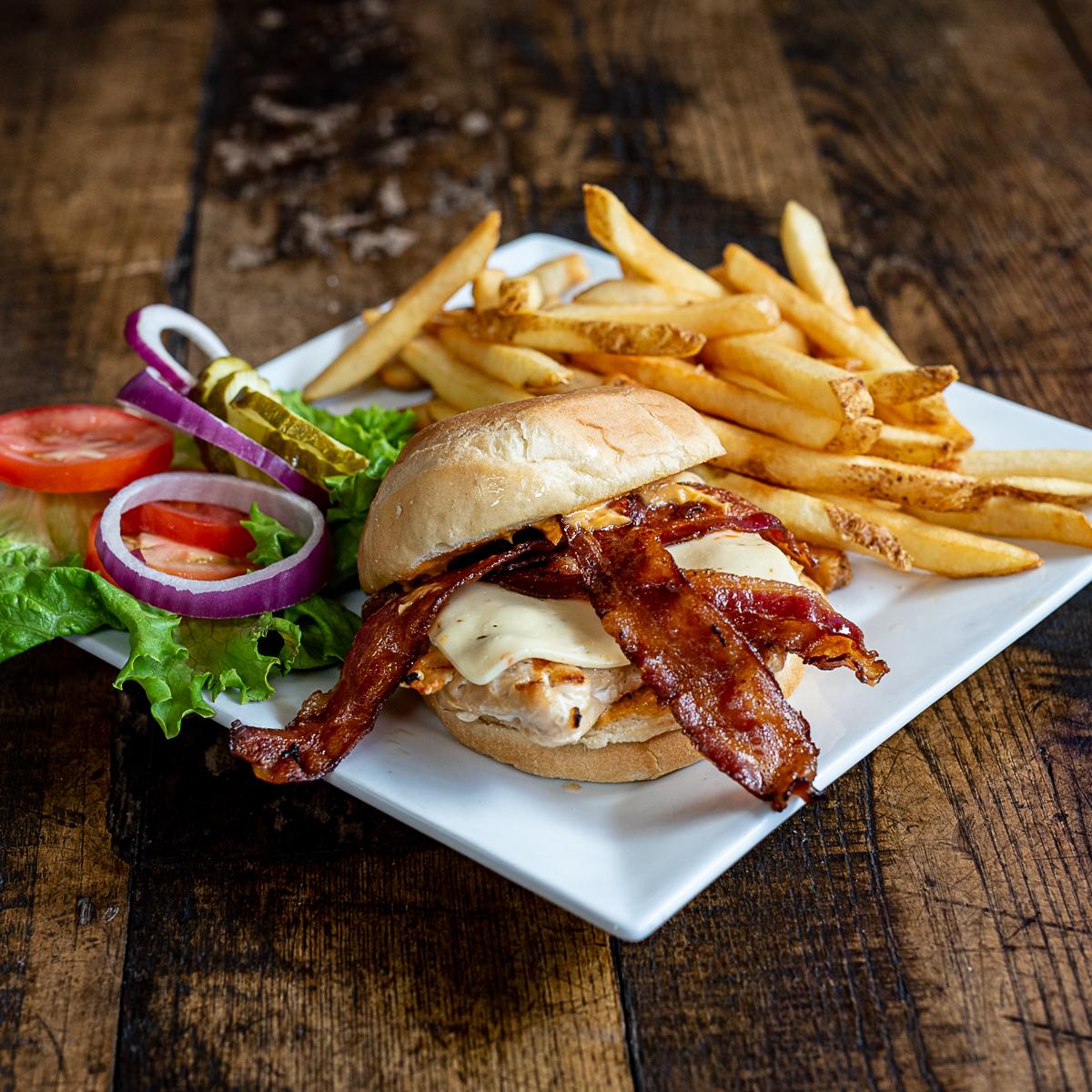 Bobbers Island Grill Chipotle Chicken Sandwich Gourmet Sandwich