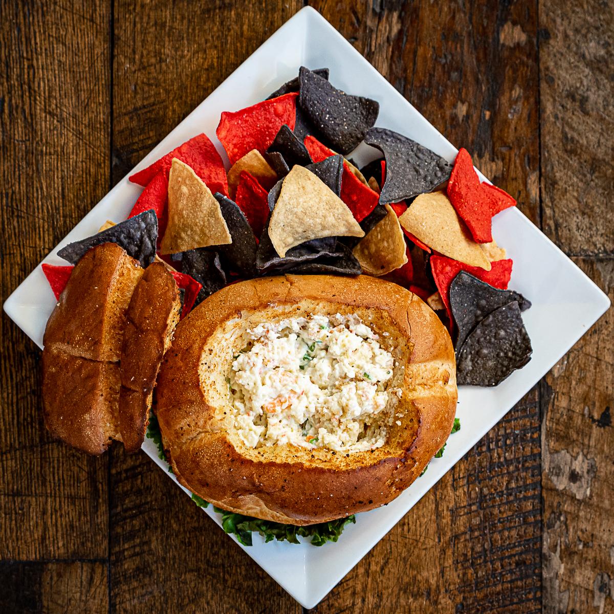 Bobbers Island Grill Del Mar Dip Appetizer