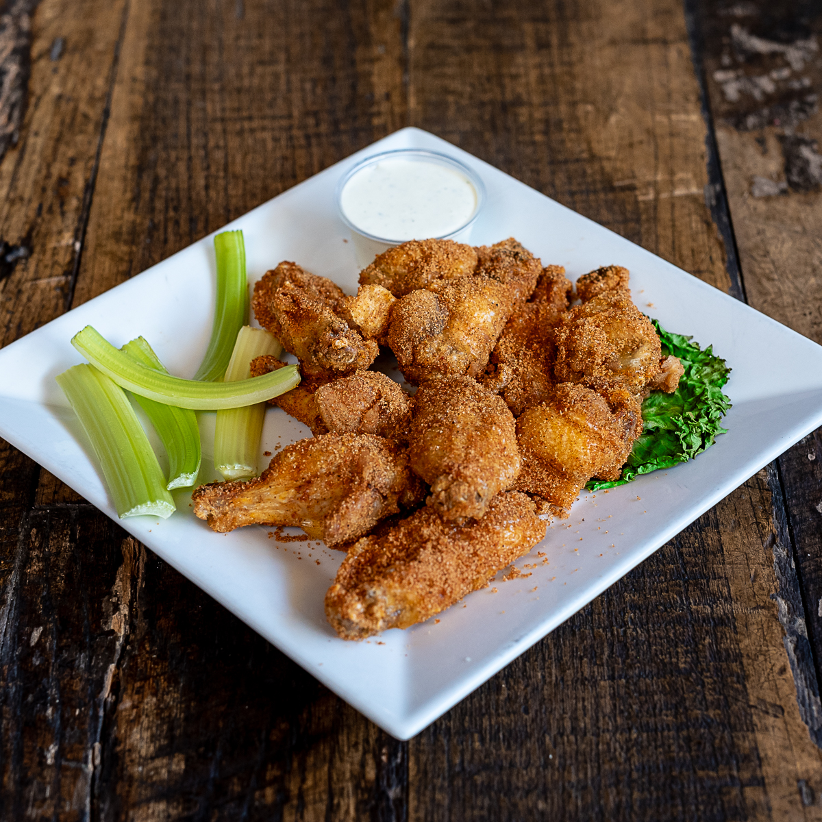 Bobbers Island Grill Wings Dry Rub Appetizer
