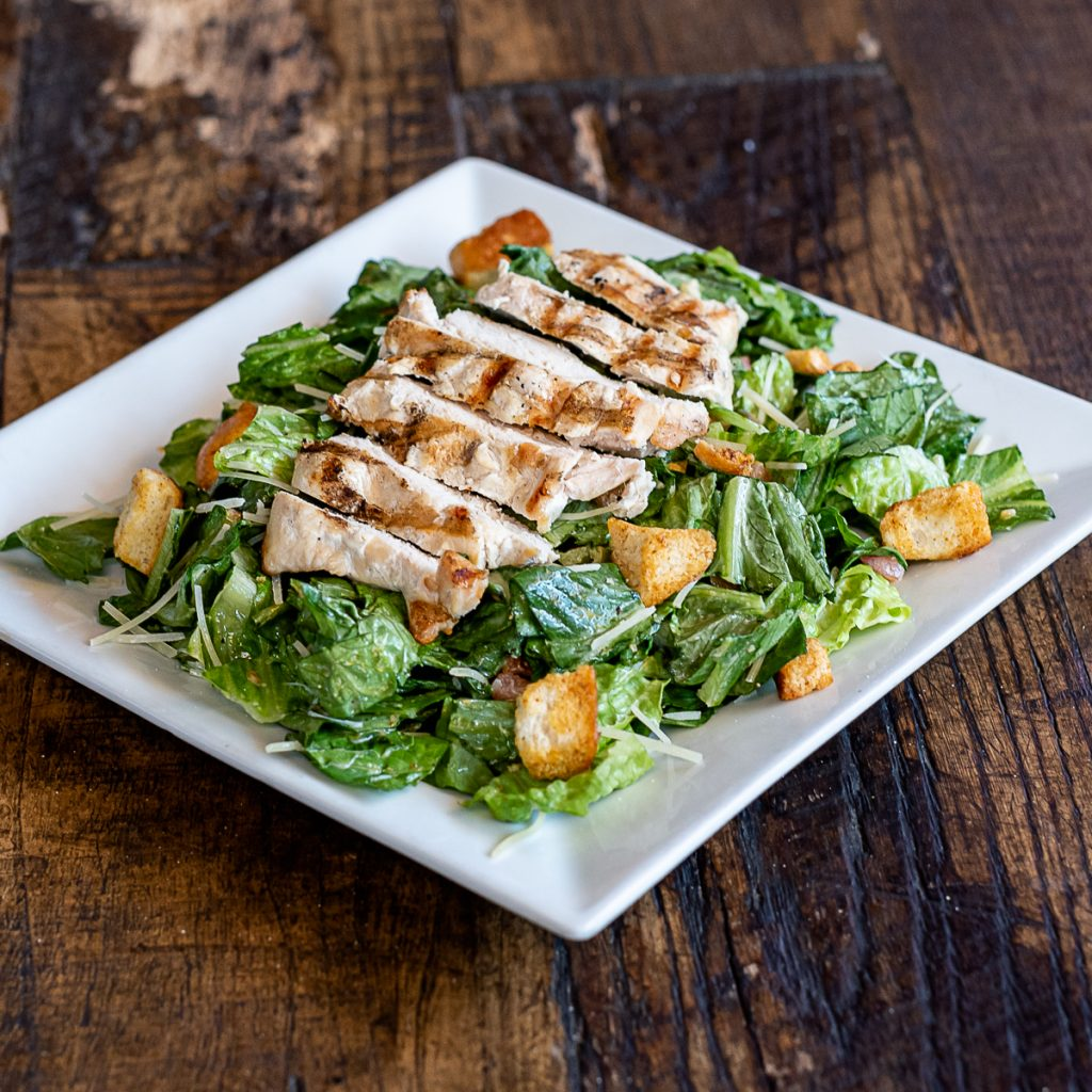 Bobbers Island Grill Caesar Salad With Chicken