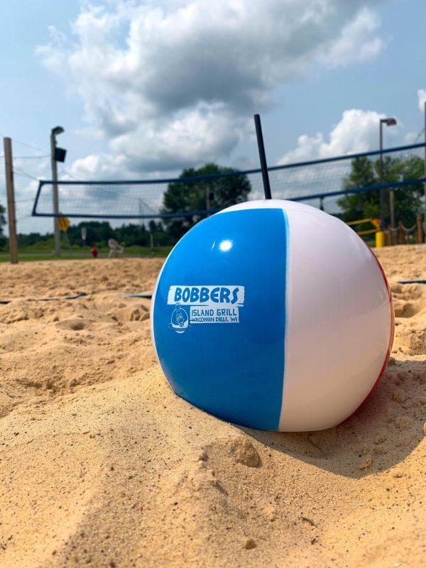 Bobbers Island Grill souvenir Beachball Drink Holder